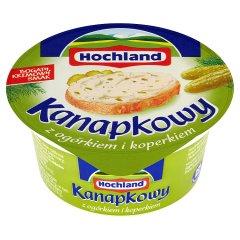 Krem Hochland Kanapkowy z ogórkiem i koperkiem