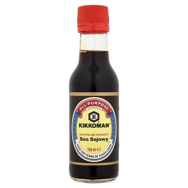 Kikkoman Naturalnie warzony sos sojowy 150 ml