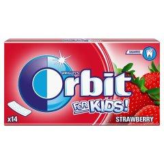 Guma Orbit For Kids Strawberry 14 listków