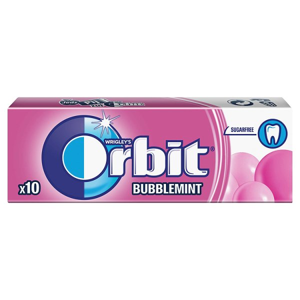 Guma Orbit Bubblemint 10 drażetek