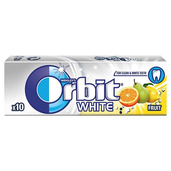 Guma Orbit White Fruit 10 drażetek