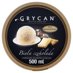 Lody Grycan biała czekolada
