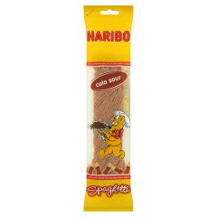 Żelki Haribo Spaghetti Kwaśne Cola