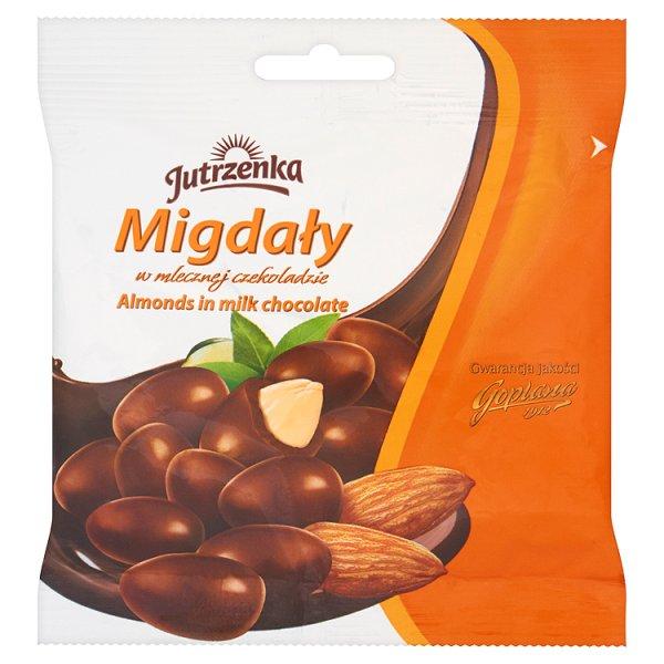 Migdały Jutrzenka w czekoladzie mlecznej