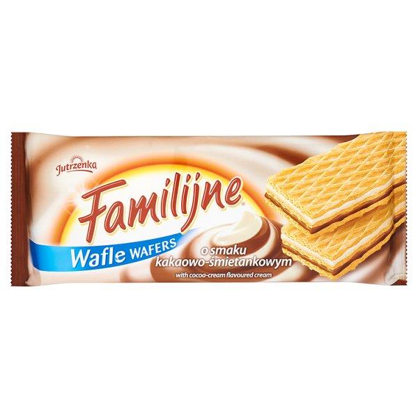 Wafle Familijne kakaowo - śmietankowe