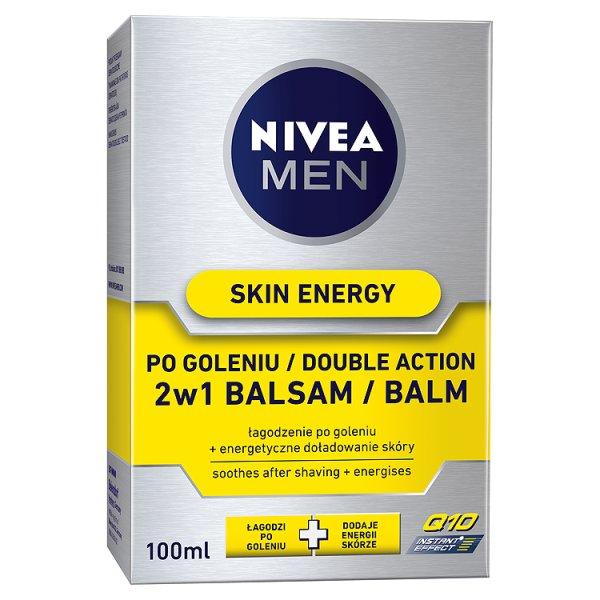 Balsam Nivea Skin Energy po goleniu 2w1