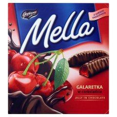 Goplana Mella Galaretka w czekoladzie o smaku wiśniowym 190 g
