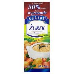 Zupa żurek Krakus 1l+0,5l gratis