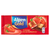 Czekolada Alpen Gold z nadzieniem truskawkowym