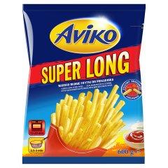 Aviko Super Long Bardzo długie frytki do piekarnika 600 g