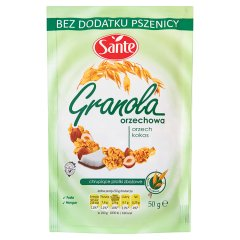 Granola Sante orzechowa