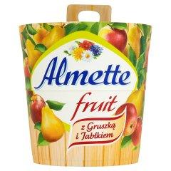 Serek Almette Fruit z gruszką i jabłkiem