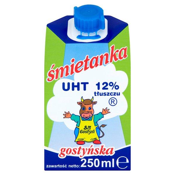 SM Gostyń Śmietanka gostyńska 12% 250 ml