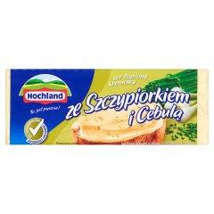 Ser Hochland topiony bloczek ze szczypiorkiem i cebulą