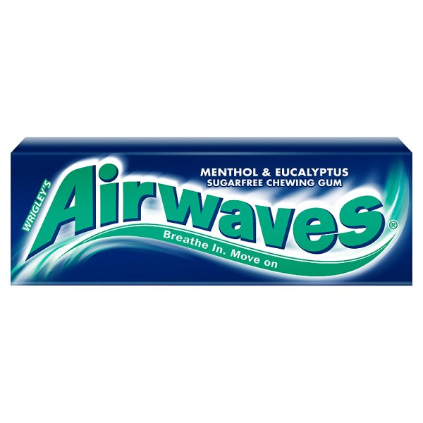 Guma Airwaves Menthol & Eucaliptus 10 drażetek