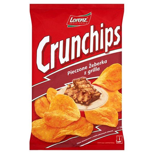 Chipsy Crunchips pieczone żeberka z grilla