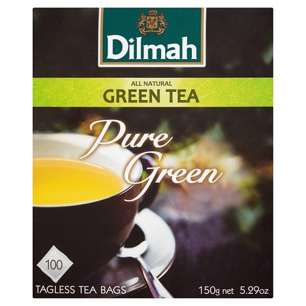 Dilmah Pure Green Herbata zielona 150 g (100 torebek)