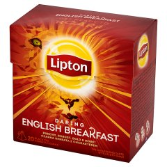 Herbata Lipton Daring English Breakfast czarna 36 g (20 torebek)
