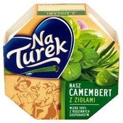 Ser camembert z ziołami