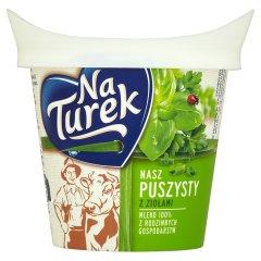 Serek Turek Puszysty z ziołami