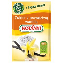 Kotányi Cukier z prawdziwą wanilią 10 g