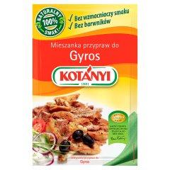 Mieszanka przypraw Kotanyi do gyrosa