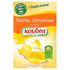Skórka cytrynowa Kotanyi krojona