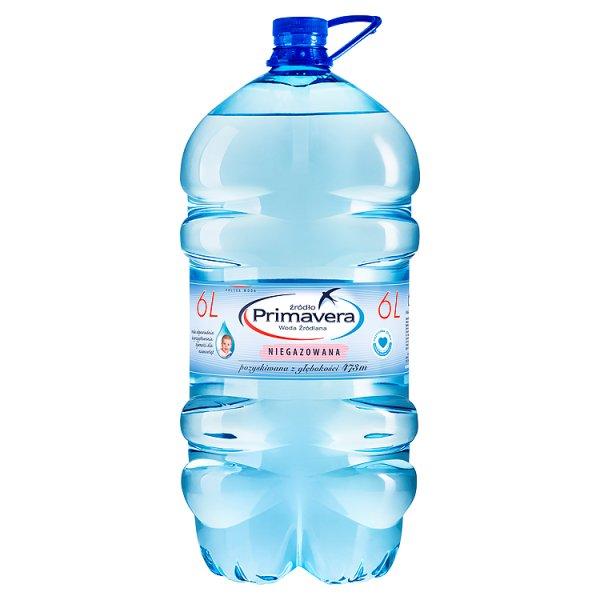 Woda Primavera niegazowana 5l+1l gratis /6l