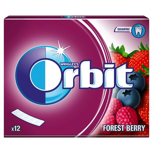 Orbit Forest Berry Guma do żucia bez cukru 31 g (12 listków)
