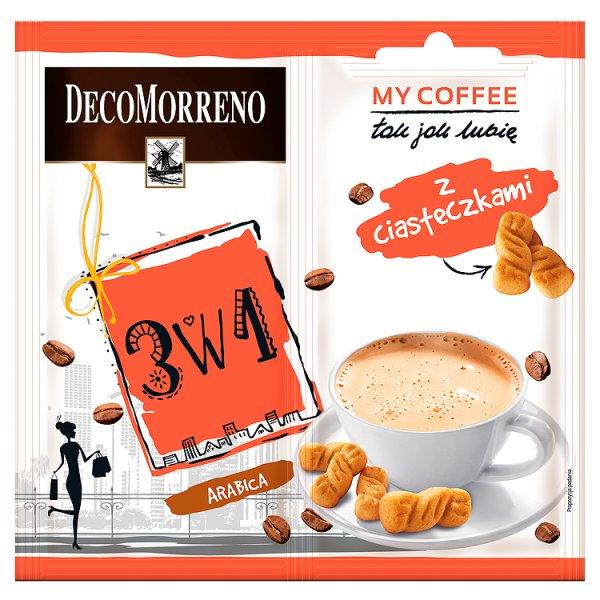 Decomorreno my coffee 3w1 z ciasteczkami