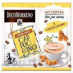 Decomorreno my coffee cappuccino o smaku waniliowym z ciasteczkami