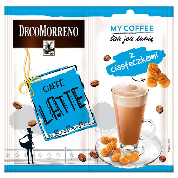 Decomorreno my coffee latte z ciasteczkami