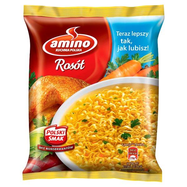 Zupa Rosół z kury Amino