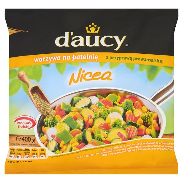 Mieszanka warzyw na patelnie Nicea D'aucy