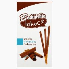Paluszki Beskidzkie łakocie w mlecznej czekoladzie