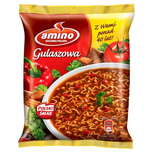 Zupa gulaszowa Amino