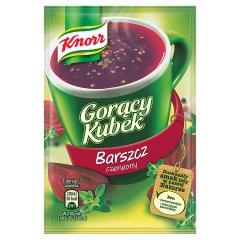 Gorący kubek Knorr barszcz czerwony