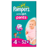 Pampers active girl maxi 52