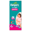 Majteczki Pampers Active Girl Extra Large