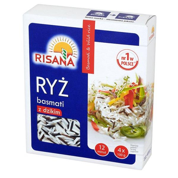 Ryż basmati z dzikim