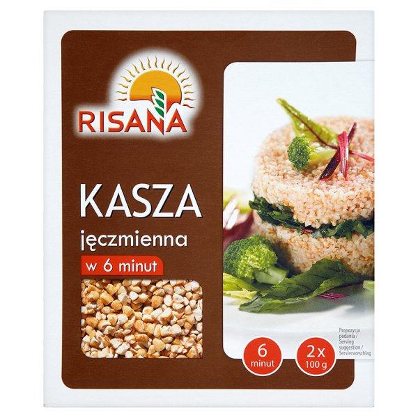 Risana Kasza jęczmienna w 6 minut 200 g (2 torebki)