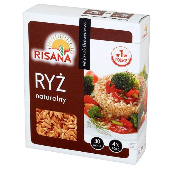 Ryż naturalny brązowy