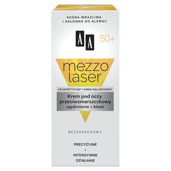 AA Mezzolaser 50+ Krem pod oczy przeciwzmarszczkowy