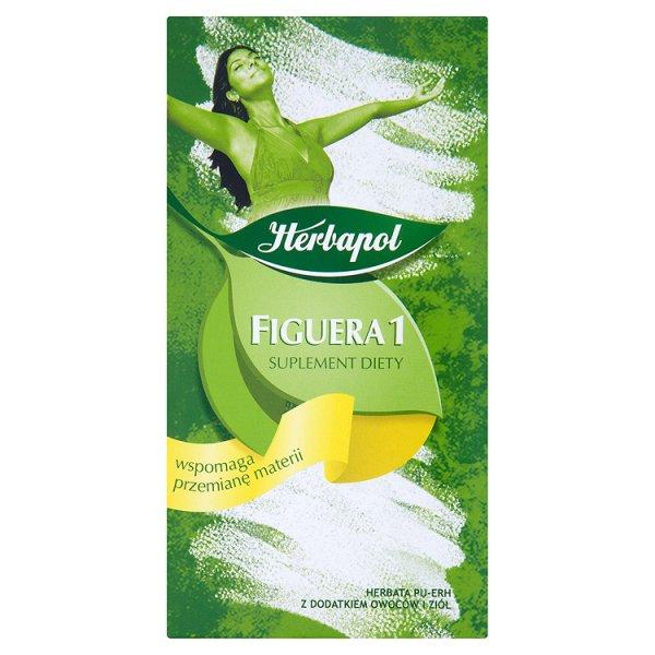 Herbapol Figuera 1 Suplement diety Herbata Pu-Erh 40 g (20 torebek)