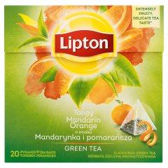 Herbata Lipton zielona mandarynka pomarańcz 20*1,8g