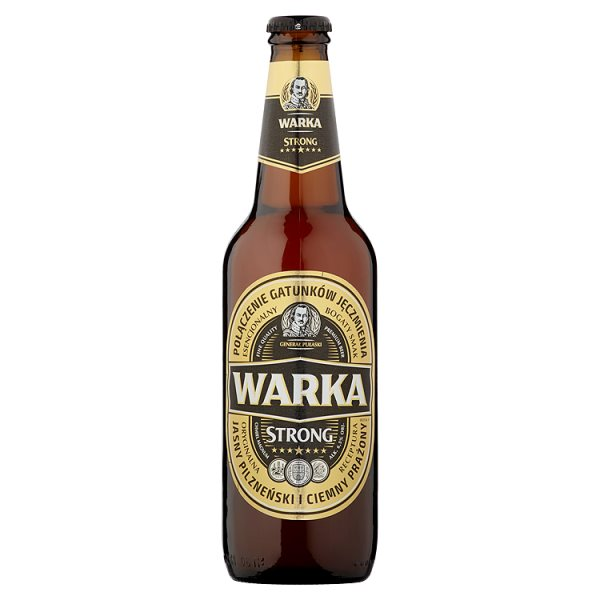 Warka Strong Piwo jasne 500 ml