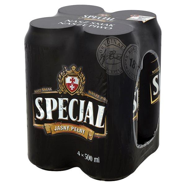 Piwo Specjal Jasny Pełny