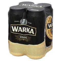 Piwo Warka strong