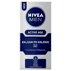 Nivea For Men balsam po goleniu 2w1Active Age