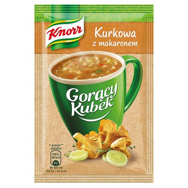 Gorący kubek Knorr kurkowa tymianek